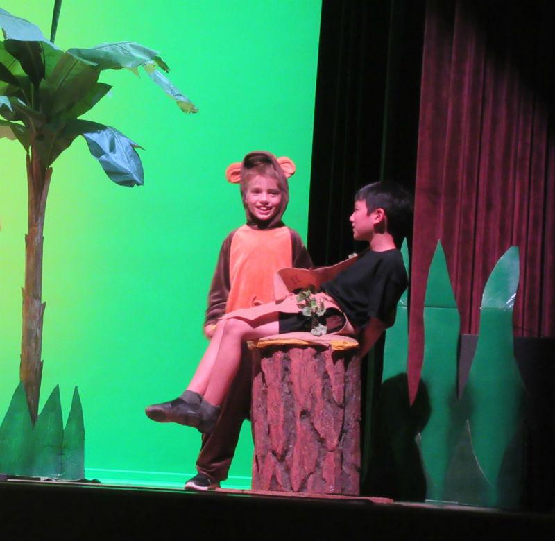 Mowgli & Monkey